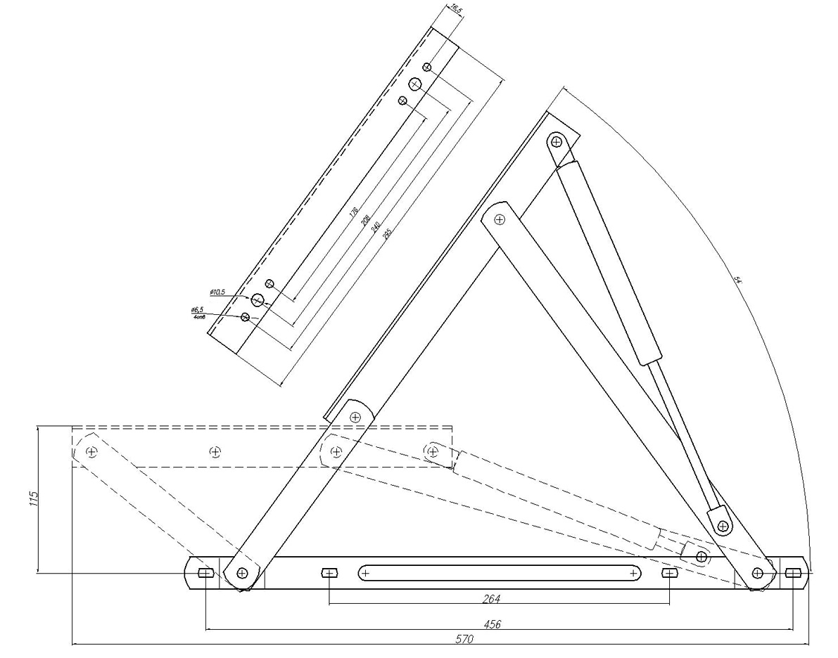 Механизм трансформации своими руками чертежи 12